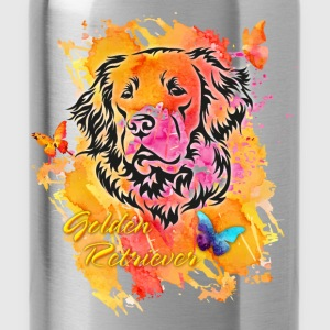 Golden Retriever Spring Pullover & Hoodies - Trinkflasche