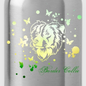 Border Collie Spring Tops - Trinkflasche