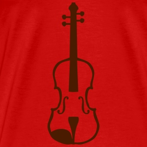 Violin instrument music 1903152 Tops - Men's Premium T-Shirt