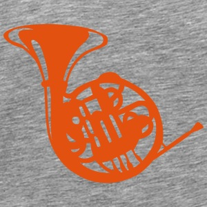 Music instrument horn 190315 Tops - Men's Premium T-Shirt