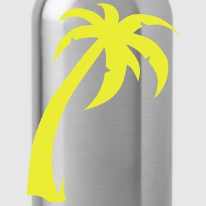 Palm trees 180315 T-Shirts - Water Bottle