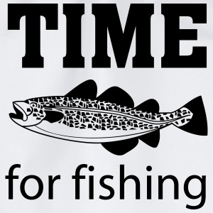 Time for fishing T-Shirts - Turnbeutel