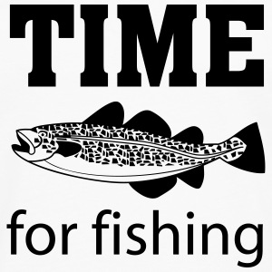 Time for fishing T-Shirts - Männer Premium Langarmshirt