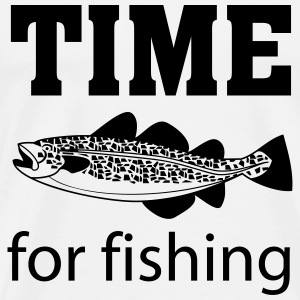 Time for fishing Felpe - Maglietta Premium da uomo