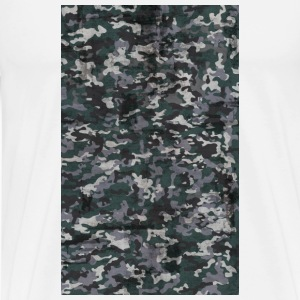 camouflage case - Men's Premium T-Shirt