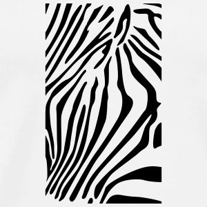 Zebra case - Men's Premium T-Shirt