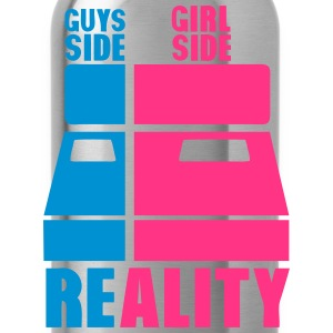 lit cote gars guys gril side reality bed Tee shirts - Gourde