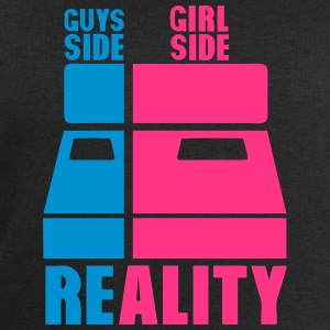 Bed side guys grill side reality T-Shirts - Men's Sweatshirt by Stanley & Stella