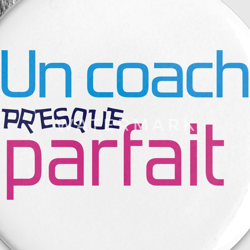 Coach / Coaching / Entraineur / Entrainer / Sport Badges - Badge moyen 32 mm