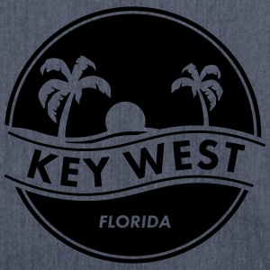 key west T-Shirts - Schultertasche aus Recycling-Material