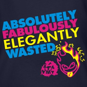 Absolutely Wasted, Fabulously Elegant! - Mannen Bio-T-shirt