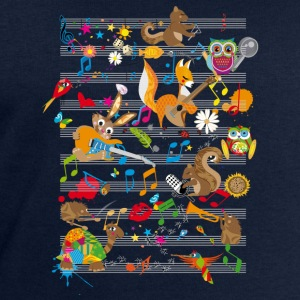 Concert of Animals Long Sleeve Shirts - Men's Sweatshirt by Stanley & Stella