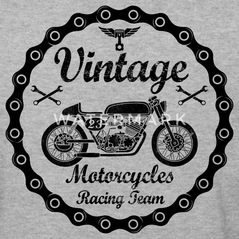 vintage motorcycles 04 Sweat-shirts - Sweat-shirt Homme