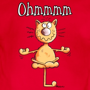 Ohmmmm Cat Shirts - Organic Short-sleeved Baby Bodysuit