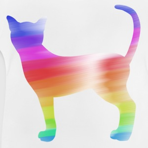colorful cat Shirts - Baby T-shirt
