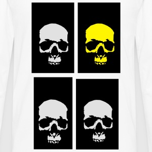golden skull  Tee shirts - T-shirt manches longues Premium Homme