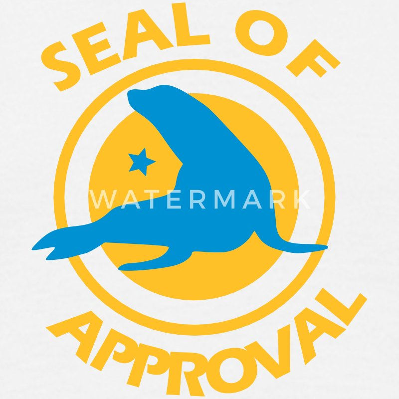 Seal of Approval T-Shirts - Männer T-Shirt