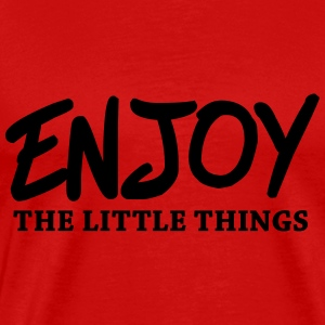 Enjoy the little things Long Sleeve Shirts - Men's Premium T-Shirt