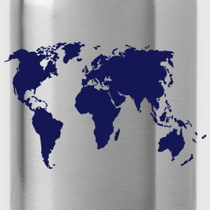 Earth, world map T-Shirts - Water Bottle
