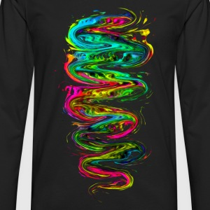 Color your life! Rainbow, Music, Trance, Techno, Goa T-Shirts - Men's Premium Longsleeve Shirt