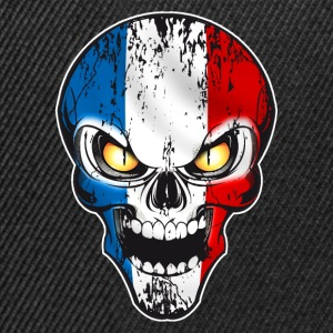 Skull France Tee shirts - Casquette snapback