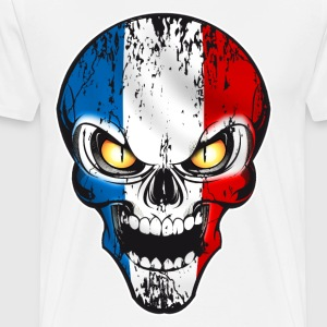 Skull France Manches longues - T-shirt Premium Homme