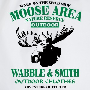 Moose Nature Reserve T-Shirts - Turnbeutel