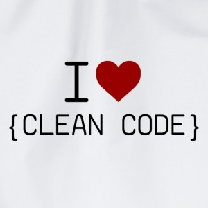 I ♥ Clean Code - Turnbeutel