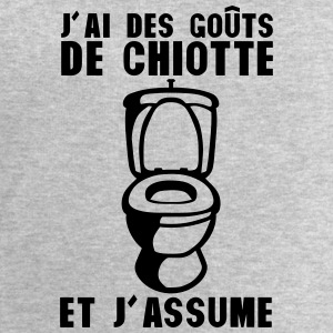 gout chiotte assume toilette wc citation Débardeurs - Sweat-shirt Homme Stanley & Stella