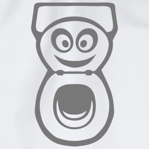 chiotte toilette wc smiley 0 Sweat-shirts - Sac de sport léger