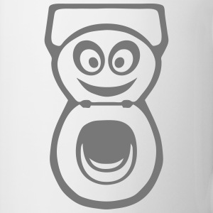 chiotte toilette wc smiley 0 Sweat-shirts - Tasse