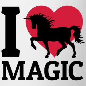 I love Magic jeg elske trolldommen Topper - Kopp