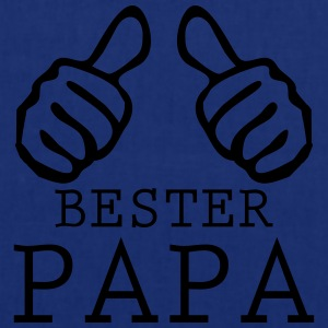 bester papa vatertag T-Shirts - Stoffbeutel