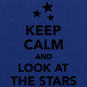 Keep calm and look at the stars T-Shirts - Stoffbeutel