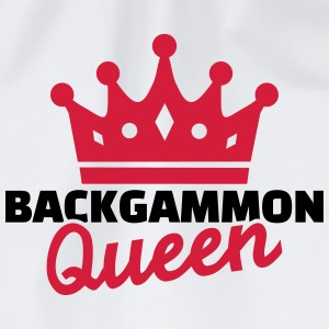 Backgammon Queen T-Shirts - Turnbeutel