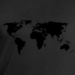 carte du monde Tabliers - Sweat-shirt Homme Stanley & Stella