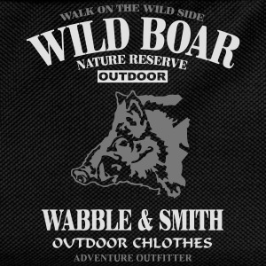 Wild Boar Long Sleeve Shirts - Kids' Backpack