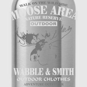 Moose Nature Reserve  Aprons - Water Bottle