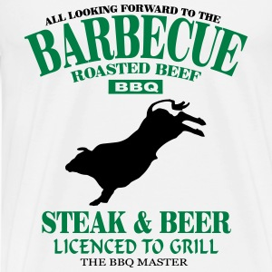 Barbecue - BBQ Pullover & Hoodies - Männer Premium T-Shirt