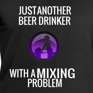 DJ Beer Mixing - Men's Sweatshirt by Stanley & Stella
