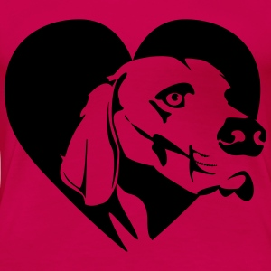 Love your Dog - Women's Premium T-Shirt