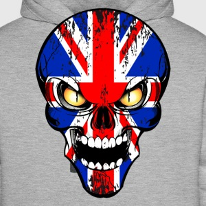 united kingdom skull Tee shirts - Sweat-shirt à capuche Premium pour hommes