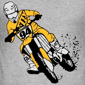 Moto Cross Sweaters - slim fit T-shirt