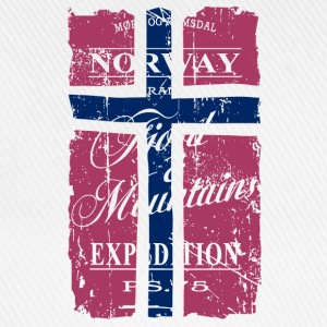 Norway Vintage Flag  Aprons - Baseball Cap