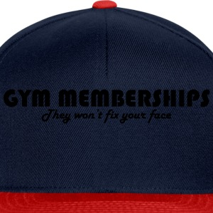 Gym Memberships Tee shirts - Casquette snapback