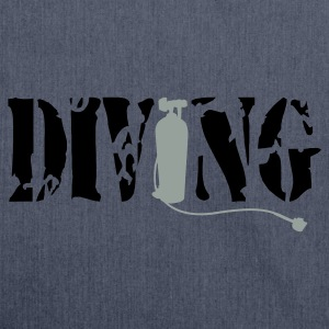 Diving - Schultertasche aus Recycling-Material