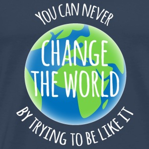 Change The World Tops - Men's Premium T-Shirt