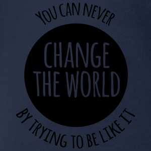 Change The World Shirts - Organic Short-sleeved Baby Bodysuit