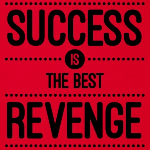 Success Is The Best Revenge  Taschen & Rucksäcke - Baby Bio-Kurzarm-Body