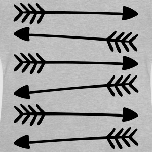 Hand Drawn Arrows 2 Skjorter - Baby-T-skjorte
